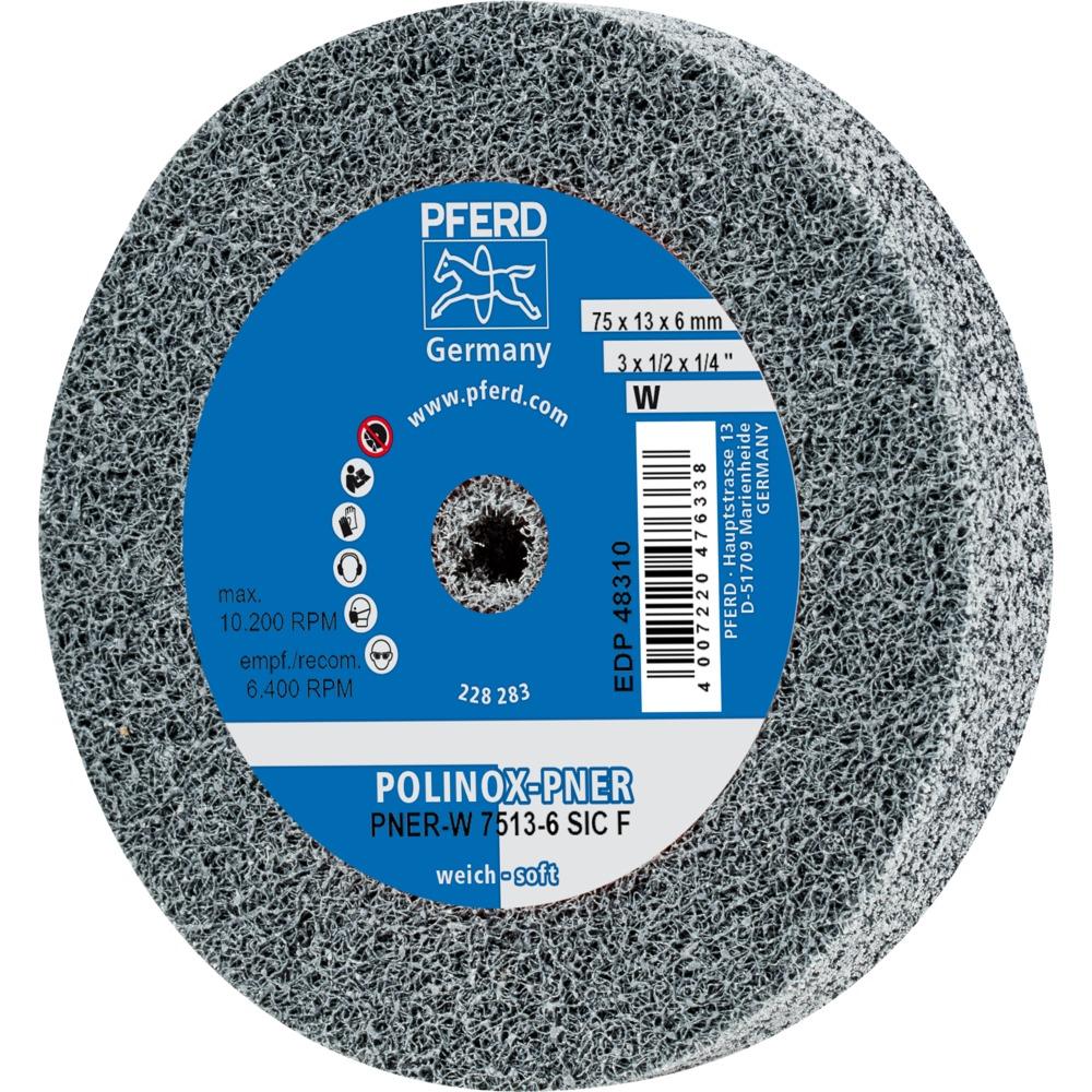 PFERD ROUES A ALESAGE COMPACTES POLINOX PNER-W 751