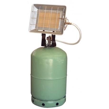 RADIANT SOLOR PORTABLE GAZ BUTANE AVEC ALLUMEUR PI