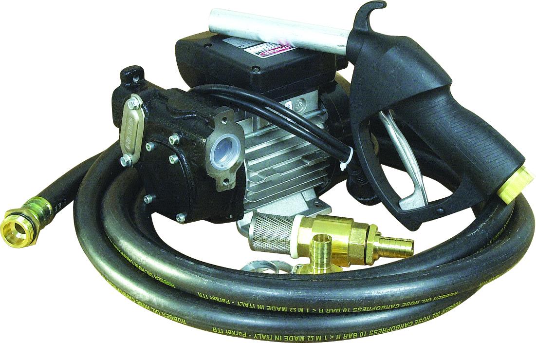 POMPE A GASOIL 230V 56L/MIN - EN KIT