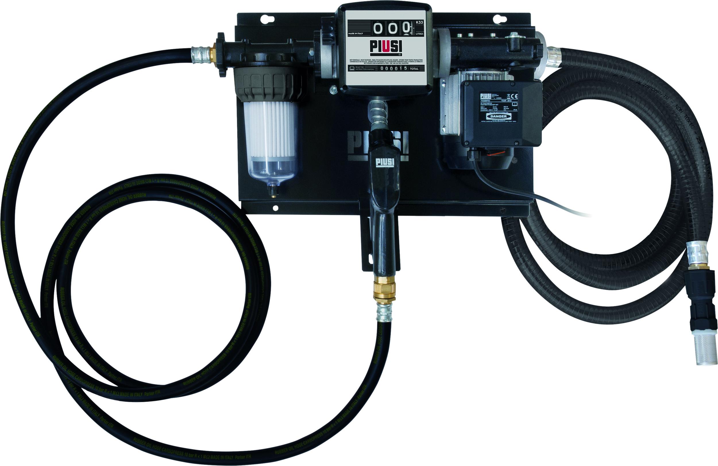 POMPE A GASOIL 230V 70L/MIN AVEC PISTOLET AUTOMATI