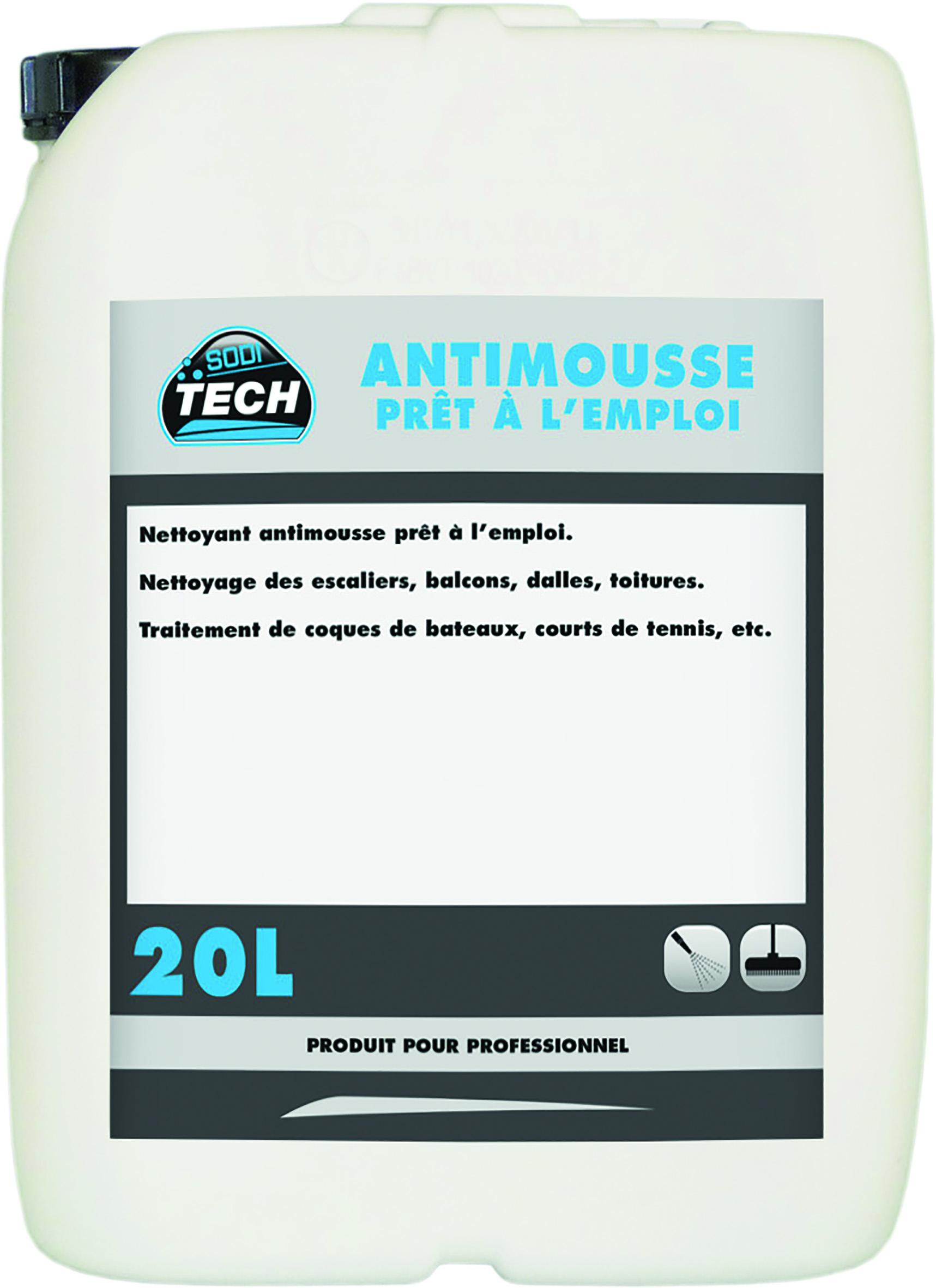 ANTIMOUSSE CONCENTRE - BIDON DE 20L