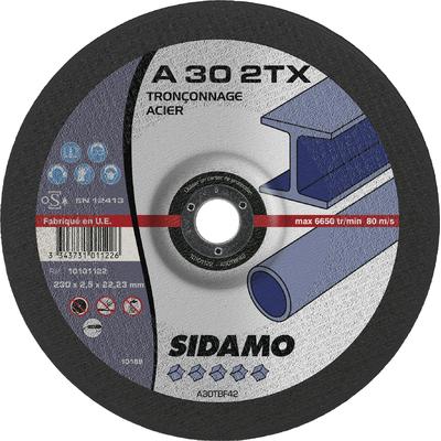 DISQUE A TRONCONNER A 30 2TX D.230 X 2,5 X 22,23