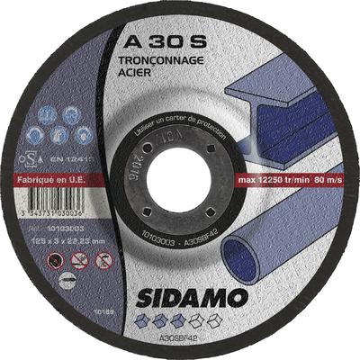 DISQUE A TRONCONNER A 30 S  D.125 X 3 X 22,23