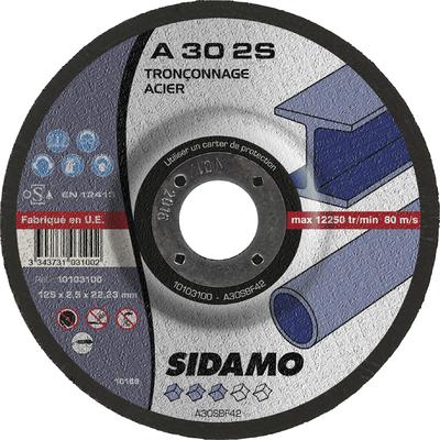 DISQUE A TRONCONNER A 30 2S  D.125 X 2,5 X 22,23