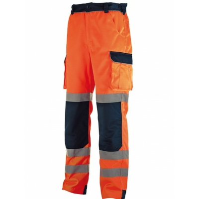PANTALON HV ORANGE/MARINE T XXL