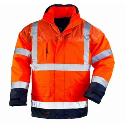 AIR RIPSTOP 4 PARKA HI-VIZ ORANGE/NOIR