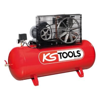 Compresseur sur cuve 270L - 10 bars - 5,5 CV - 400V REF KS TOOLS 165.0423