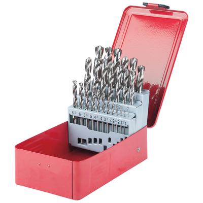 Coffret de forets HSS-G meulés, 25 pièces REF KS TOOLS 330.2613
