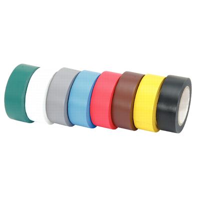 Lot de 10 rubans d'isolation en PVC multicolor REF KS TOOLS 141.6010
