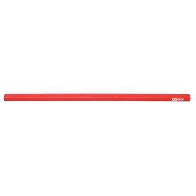 Crayons de charpentier L, 250 mm - la boite de 12 crayons REF KS TOOLS 300.0070