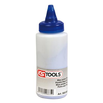 Biberon de poudre Bleue pour traçeur, 150g REF KS TOOLS 300.0082
