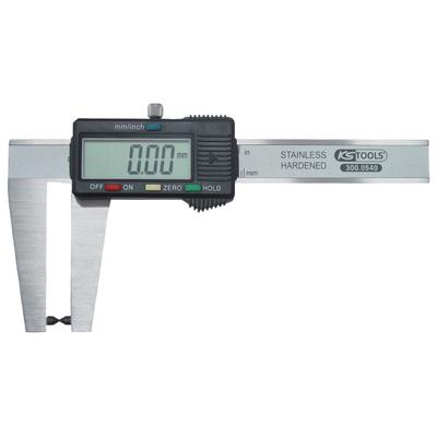 Calibre à coulisse inox digital pour disque de frein, coffret plastique REF KS TOOLS 300.0540