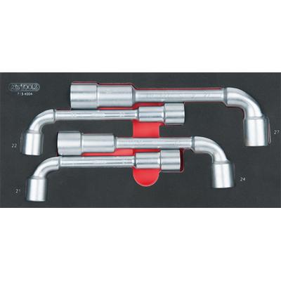 Module de clés à pipe débouchées - 6 pans, 4 pièces REF KS TOOLS 713.4004