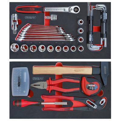 Composition de 77 outils pour servante mobile 850.0340SP REF KS TOOLS 800.0077