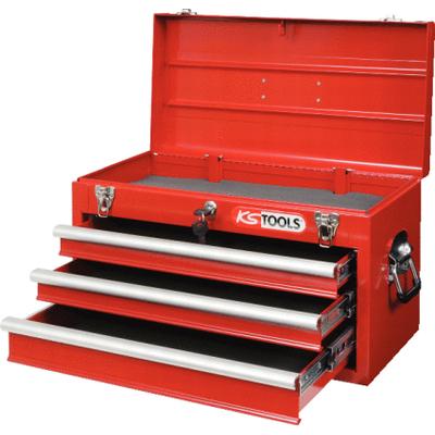 Coffre à outils vide  avec 3 tiroirs ( 911,0100 ) REF KS TOOLS 891.0003