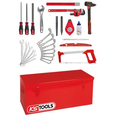 Caisse à outils tuyauteur - 28 outils REF KS TOOLS 911.0028