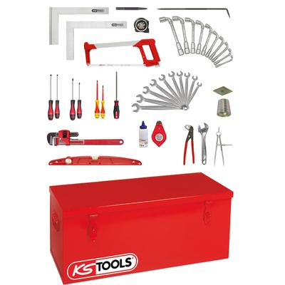Caisse à outils moteur chaudronnier - 42 outils REF KS TOOLS 911.0042