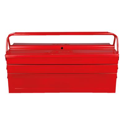 Caisse à outils métallique, 5 compartiments - 430x200x200 REF KS TOOLS 999.0120