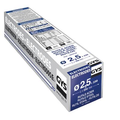 Électrodes rutiles E6013 Ø 2,5 mm