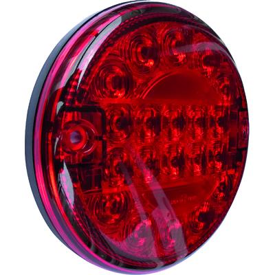 FEU ARRIERE LED PLAT ANTI-BROUILLARD D.140MM