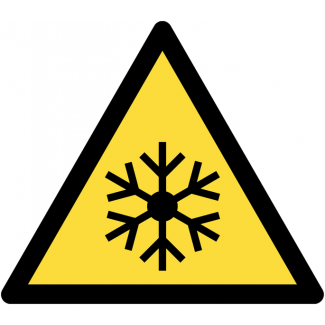 PICTOGRAMME DANGER BASSE TEMPERATURE