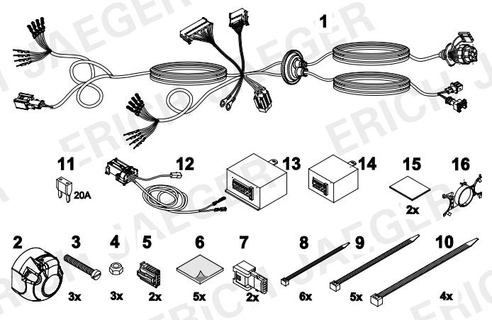 set0714 faisceau sp cifique renault scenic 3 faisceau lapiece. Black Bedroom Furniture Sets. Home Design Ideas
