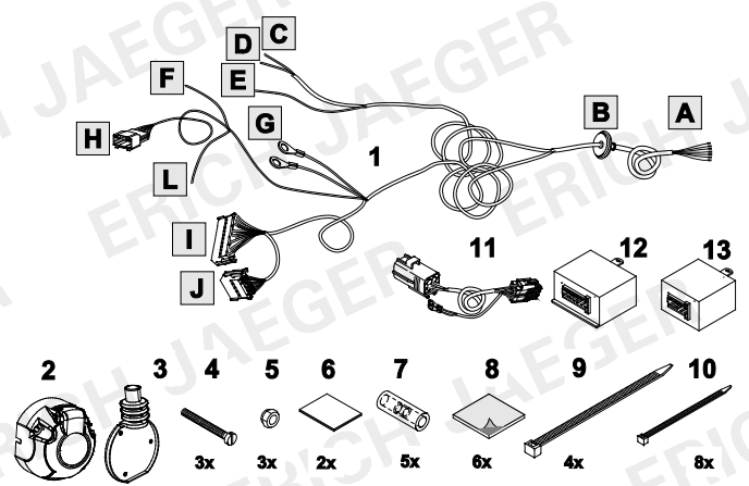 set0539 faisceau sp cifique c4 aircross faisceau citro n lapiece. Black Bedroom Furniture Sets. Home Design Ideas