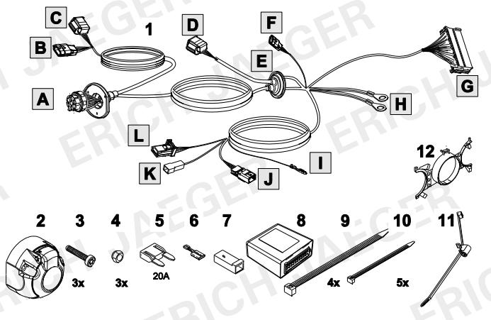 set0915 faisceau sp cifique megane 4 faisceau renault lapiece. Black Bedroom Furniture Sets. Home Design Ideas