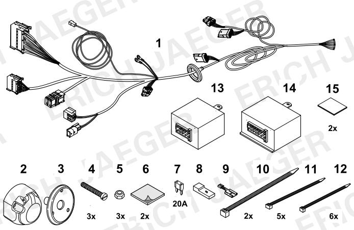 set0543 faisceau sp cifique fluence faisceau renault lapiece. Black Bedroom Furniture Sets. Home Design Ideas