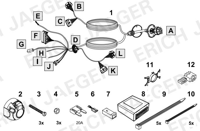 set0873 faisceau sp cifique espace 5 faisceau renault lapiece. Black Bedroom Furniture Sets. Home Design Ideas