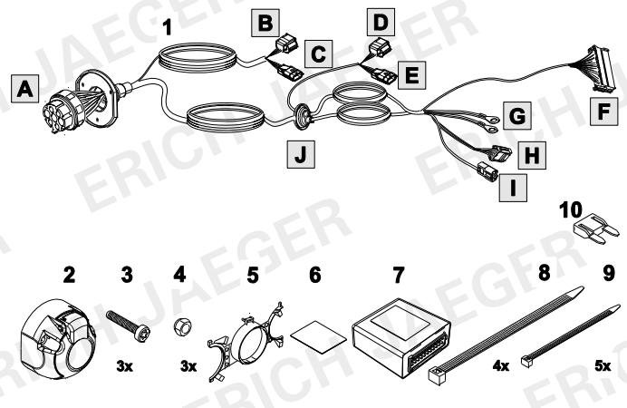set0913 faisceau sp cifique talisman faisceau renault lapiece. Black Bedroom Furniture Sets. Home Design Ideas