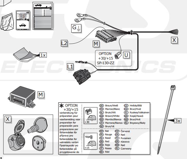set0751 faisceau sp cifique c4 picasso 2 faisceau. Black Bedroom Furniture Sets. Home Design Ideas
