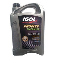 IGOL Huile 5W30 PROFIVE Emeraude 5L