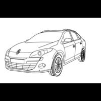 SET0509 faisceau spécifique Renault megane 3 estate 06/09 à 10/12