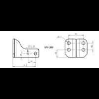 SPV 200 Adaptateur platine 4 trous