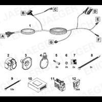 SET1063 Faisceau spécifique combo 4