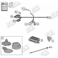SET1119 Faisceau Spécifique Nissan Qashqai 2Ph2 à partir de 05/19