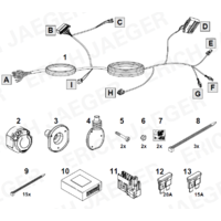 SET1064 Faisceau spécifique Berlingo 3 (13 Broches)