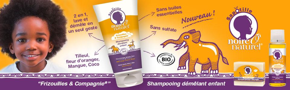 Shampooing démêlant enfant naturel