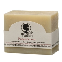 Savon Surgras Bio Sans parfum - Nuage de Coco - Peau sèche ou sensible