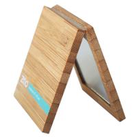 Miroir double de poche en bambou - Zao Makeup