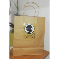 SHOPPING BAG NOIREONATUREL