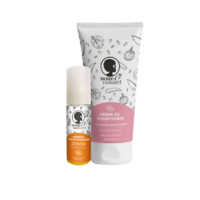 Duo Routine de soins express : co-wash + mélange d'huiles pour un cheveu régénéré !
