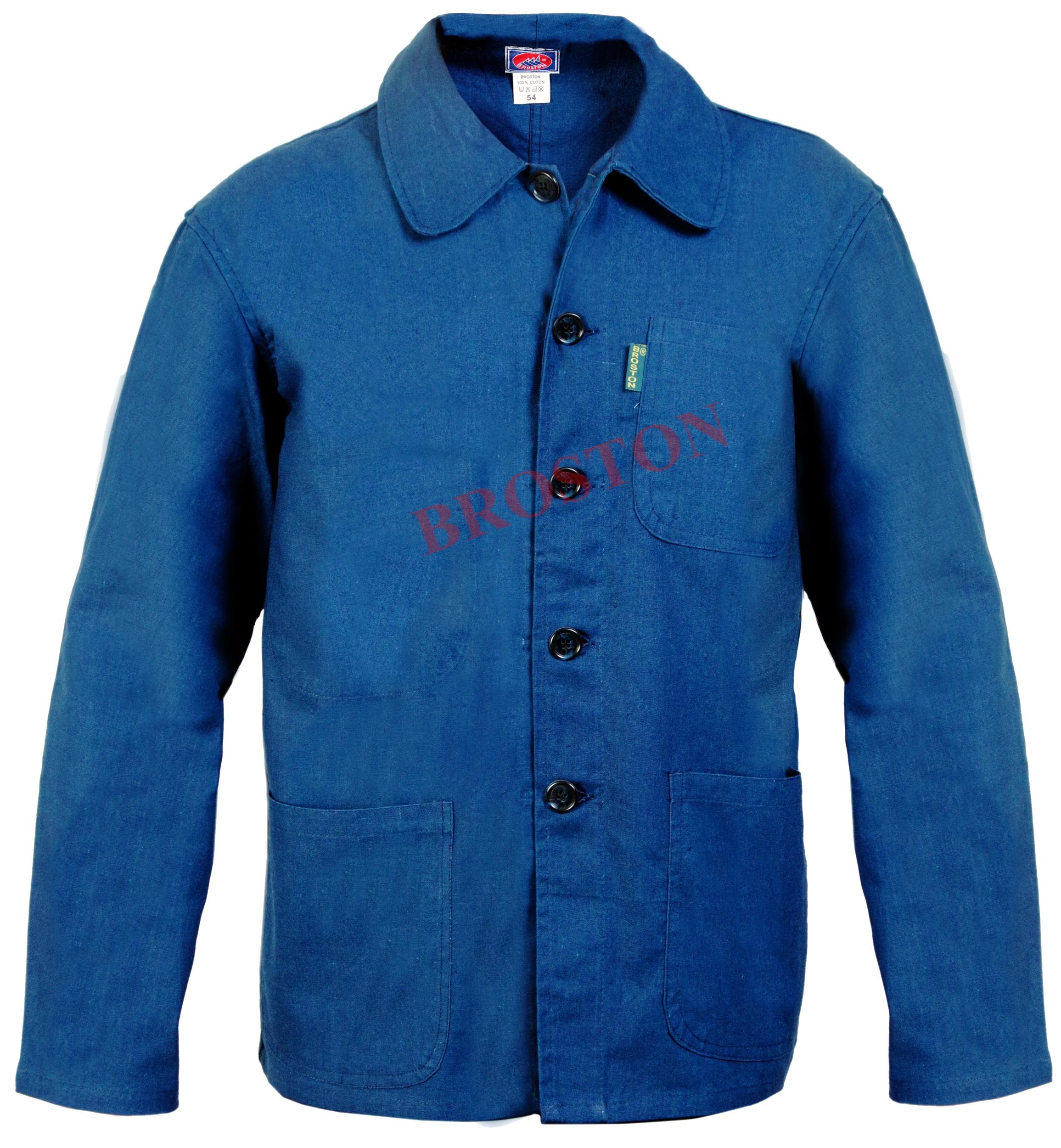 veste bleu de chine boutons bleu de chine top pro. Black Bedroom Furniture Sets. Home Design Ideas