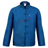 Veste Bleu de Chine Col Mao