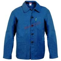 Veste Bleu de Chine à Boutons