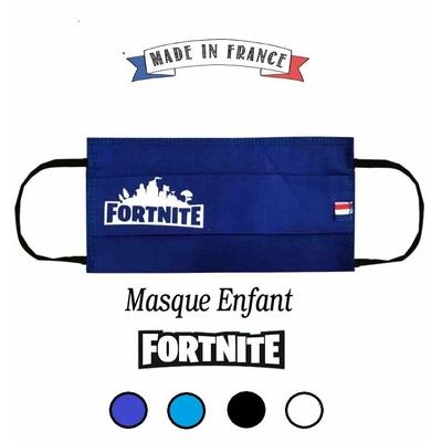 MASQUE EN TISSU 2 PLI - FABRIQUÉ EN FRANCE - FORTNITE