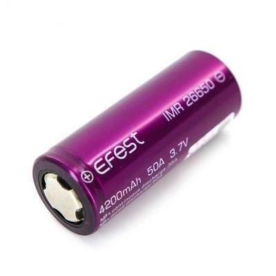EFEST 26650 - 4200mAh - 50A