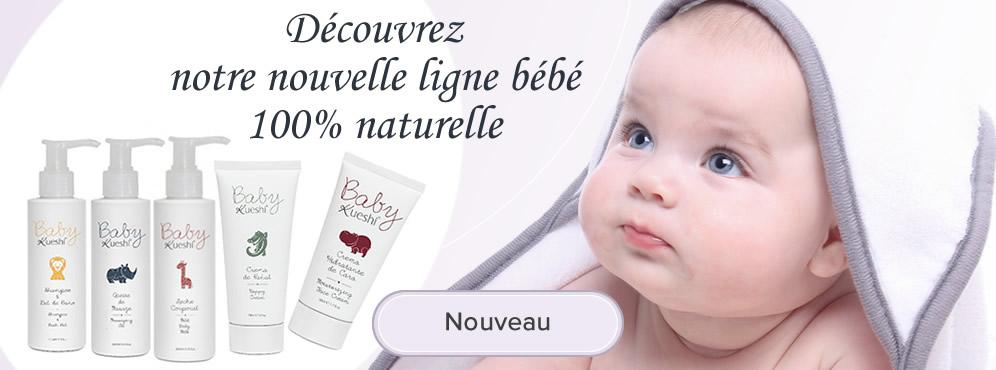 Cosmétiques 100% naturels bébé et enfant