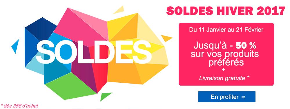 Soldes Hiver 2017 Produits cosmétiques Kueshi